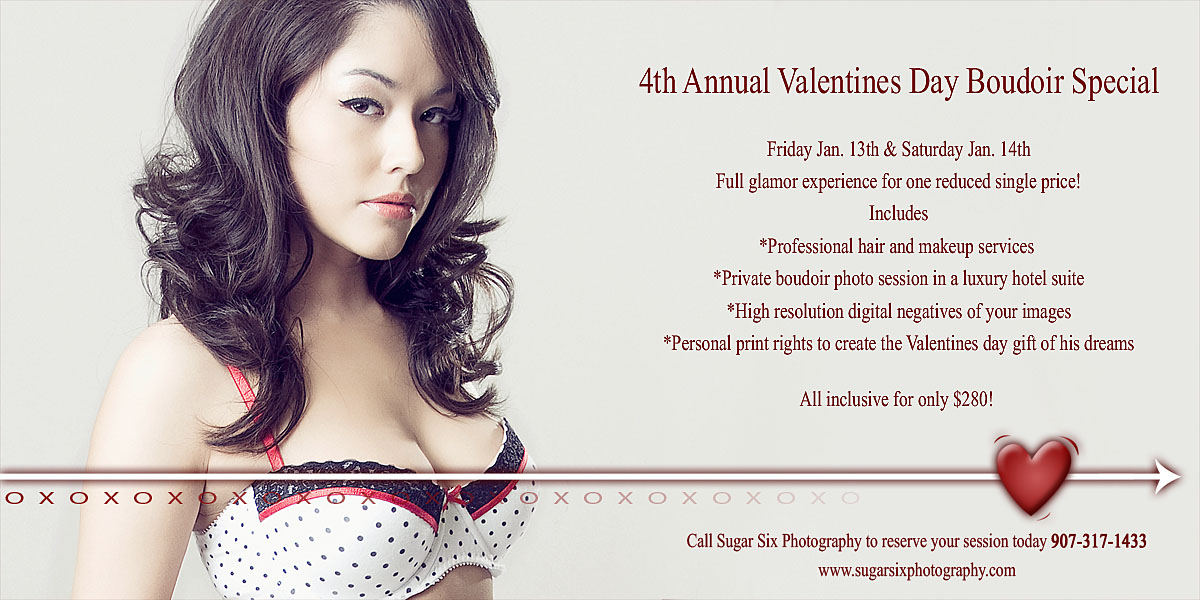 Boudior Photography Special For Valentines Day